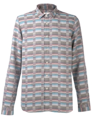 Folk Tapered Shirt Multicolour