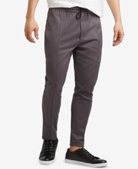 Kenneth Cole New York Pleated Pull On Pants Flannel Heather