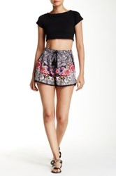 Angie Tie Waist Short No Color