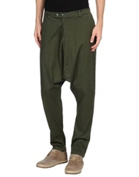 Camo Casual Pants Military Green