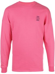 Opening Ceremony Embroidered Logo Sweatshirt Pink