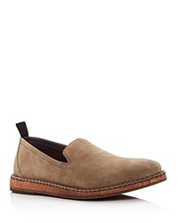 John Varvatos Star Usa Men's Zander Suede Loafers Rye