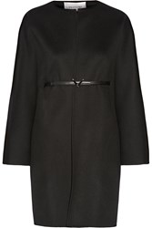 Valentino Belted Wool And Cashmere Blend Coat