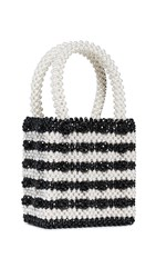 Shrimps Antonia Bag Black Cream