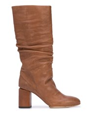 Officine Creative Knee Length Ruched Boots 60