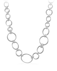 David Yurman Crossover Convertible Necklace Bracelet Diamond