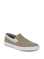 Ben Sherman Percy Slip On Sneakers Sand