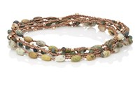 Feathered Soul Sooth Wrap Bracelet Yellow