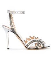 Charlotte Olympia 'High Gear' Sandals Metallic