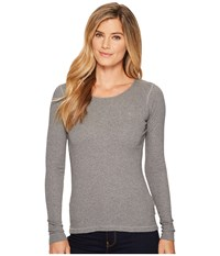 Fjall Raven Ovik Long Sleeve Top Grey Women's Long Sleeve Pullover Gray