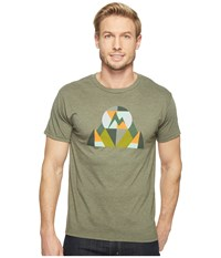 Marmot Hew Tee Short Sleeve Olive Heather Men's T Shirt