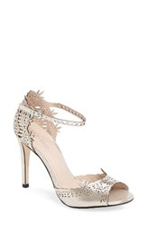 Klub Nico Women's Madelene Sandal Silver Leather