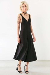 Silence And Noise Sylvia Culotte Slip Jumpsuit Black