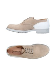 Lo.White Lo. White Lace Up Shoes Dove Grey
