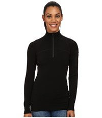 Arc'teryx Rho Ltw Zip Neck Black Women's Long Sleeve Pullover