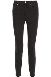 Madewell The High Riser Skinny Jeans Black