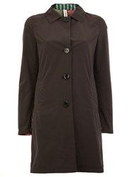 Herno Buttoned Coat Black