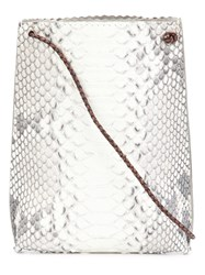 B May 'Cell Pouch' Crossbody Bag White