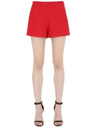 Valentino Wool And Silk Crepe Couture Shorts