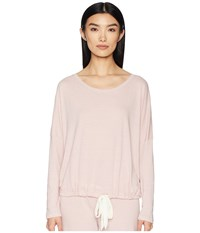 Eberjey Heather Slouchy Tee Cashmere Rose Clothing Pink