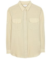 Closed Cotton And Cashmere Shirt Beige