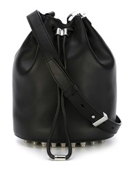 Alexander Wang 'Alpha' Bucket Crossbody Bag Black