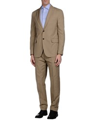 Piombo Suits And Jackets Suits Men Sand