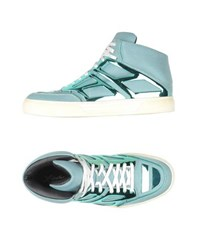 Alejandro Ingelmo Footwear High Tops And Trainers Men Turquoise