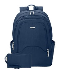 Baggallini Step Patterned Backpack Pacific