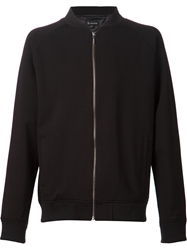 Zanerobe Zipped Bomber Jacket Black