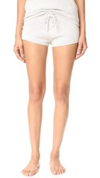 Eberjey Paula Shorts Speckled Grey