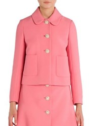 Miu Miu Long Sleeve Jacket Pink