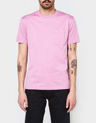 Our Legacy Pocket T Shirt Glow Pink Mercerized