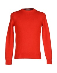 Kangra Cashmere Sweaters Red
