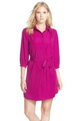 Felicity And Coco Shirtdress Purple