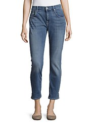 7 For All Mankind Relaxed Skinny Whiskered Jeans Cloud Blue