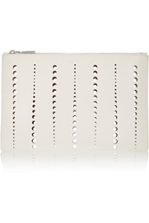 Jil Sander Perforated Leather Clutch