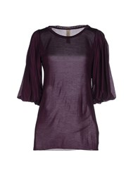 Coast Weber And Ahaus Topwear T Shirts Women Purple