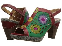 Spring Step Belen Red Women's Sandals
