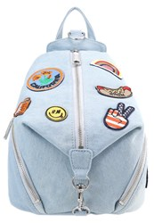 Rebecca Minkoff Julian Rucksack Light Denim Light Blue Denim