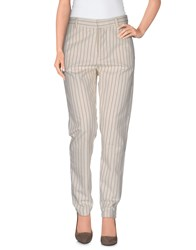 Ottod'ame Trousers Casual Trousers Women Beige