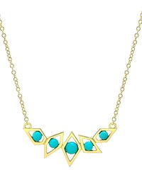 Ron Hami Birds Of Paradise Turquoise Necklace