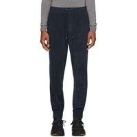Ralph Lauren Purple Label Navy Fleece Jogger Trousers