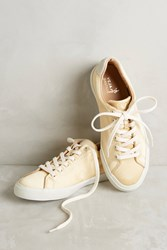 Anthropologie Veja Bastille Sneakers Gold