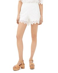 Sandro Painter Lace Shorts Ecru