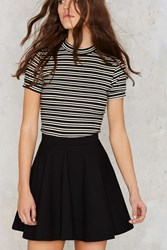 Nasty Gal Spin Class Ready Flared Skirt