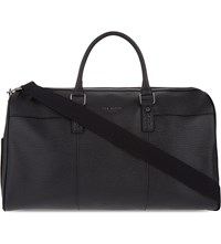 Ted Baker Elojio Leather Holdall Black