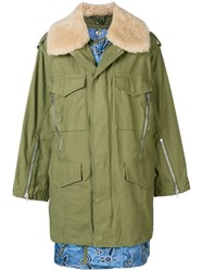 3.1 Phillip Lim Utility Jacket With Inner Vest Green