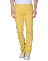 Closed Denim Denim Trousers Men Yellow