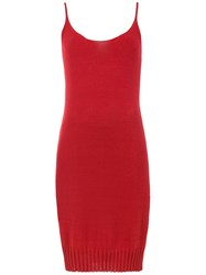Mara Mac Knitted Dress Red